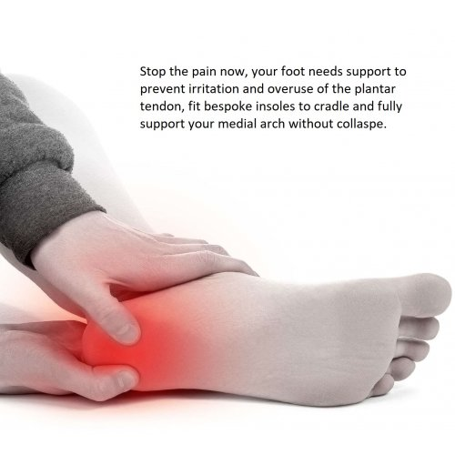 Plantar Fasciitis - Custom made insoles